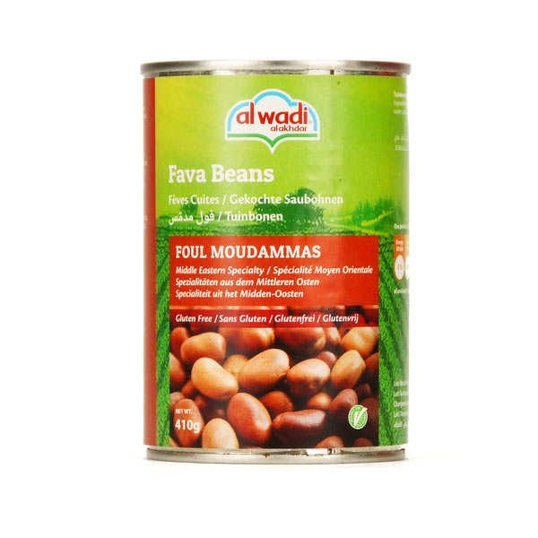 Natural Medames Broad Beans
