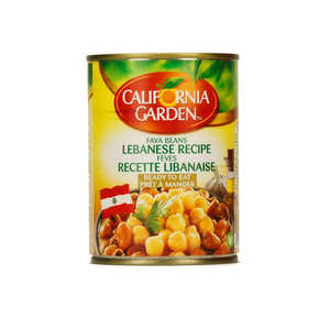 California Garden - Medames Beans way Lebanese