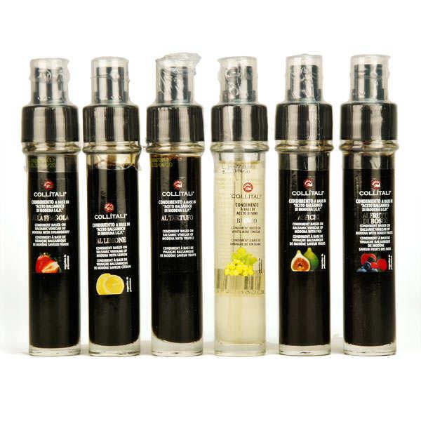 Recharge, vaporisateur vinaigre balsamique italien (plusieurs aromatisations) - vinaigre balsamique au citron - flacon 30 ml