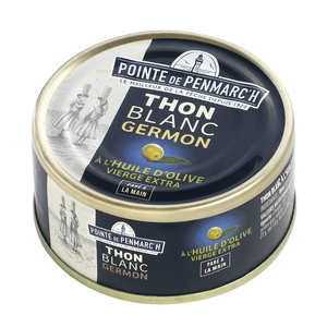 La pointe de Penmarc'h - Thon blanc à l'huile d'olive vierge extra