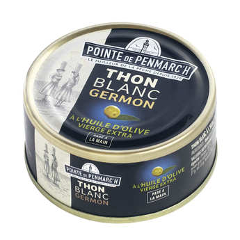 La pointe de Penmarc'h - White tuna in olive oil