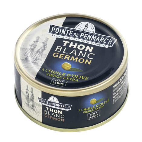 La pointe de Penmarc'h - White tuna in olive oil