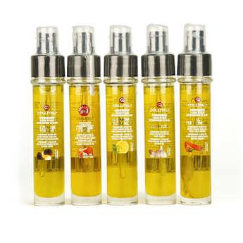 La Collina Toscana - Recharge et vaporisateur huile d'olive italienne (plusieurs aromatisations)