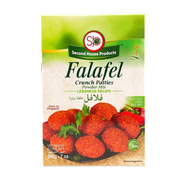 Preparation for Lebanese Recipe for Falafel