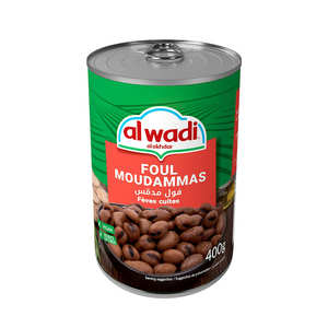 Al wadi - Cooked Broad Beans Foul Moudamas