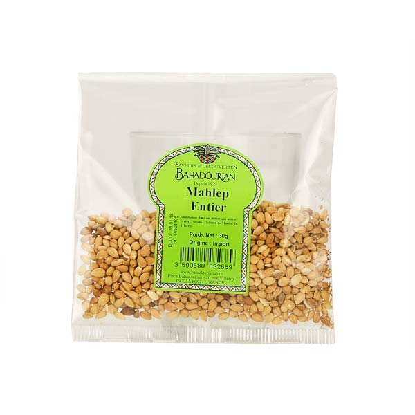 Mahaleb en grain