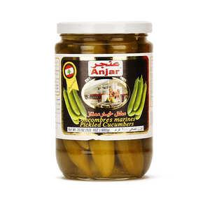 Anjar - Concombres marinés libanais