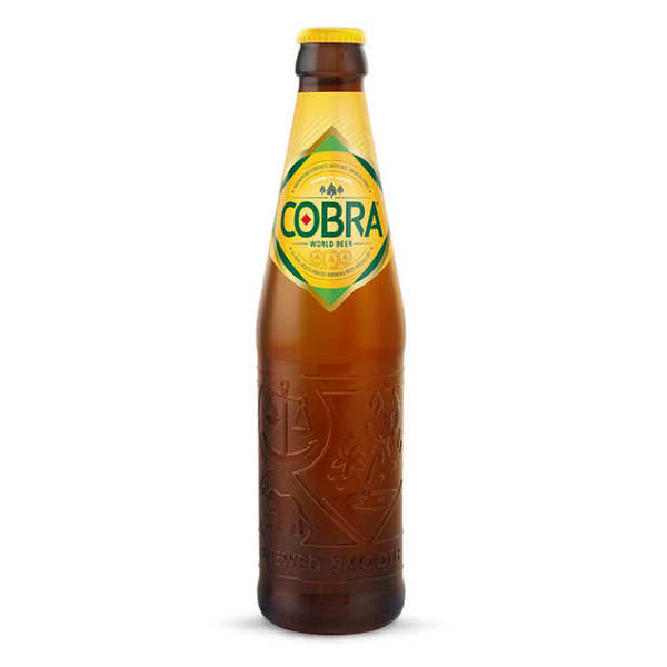 Cobra - beer from India 5%