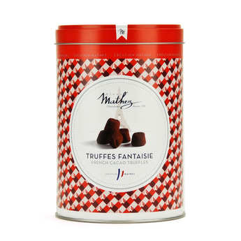 Chocolat Mathez - Salted Caramel Fantaisie Truffles in Vintage Tin