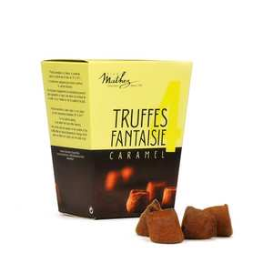 Chocolat Mathez - Mini Happy Box - Fancy box Chocolate Fantaisie Truffles with Salted Butter Caramel