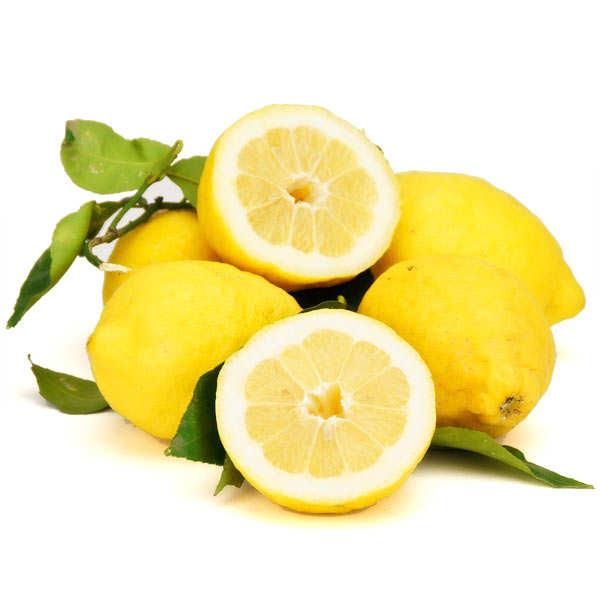 Citrons frais de la côte d'Amalfi IGP d'Italie