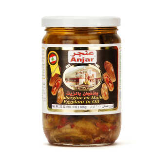 Anjar - Aubergine à l'huile
