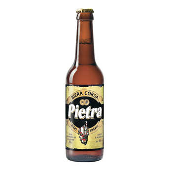 Brasserie Pietra - Pietra - bière de Corse - 6%