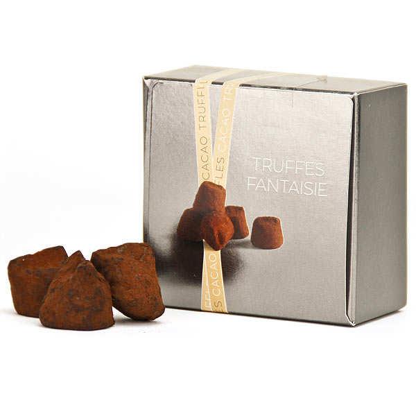 Chocolate Truffles with Guerande Fleur de Sel