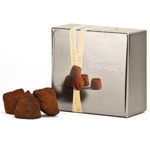 Chocolat Mathez - Truffes fantaisie à la fleur de sel de Guérande