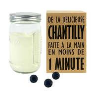 Cookut - Bocal Creazy pour chantilly