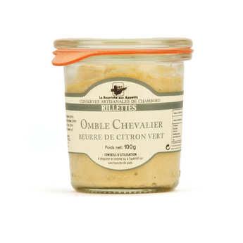 La Bourriche aux Appétits - Rillettes d'omble chevalier au beurre de citron vert