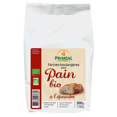 Priméal - Farine boulangère pour pain bio à l'épeautre