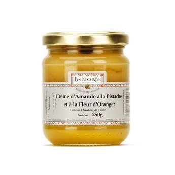 Bahadourian - Crème d'amande à la pistache et fleur d'oranger