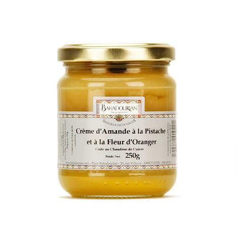 Bahadourian - Cream Almond Pistachio and Orange Blossom