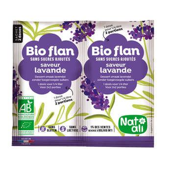 Nat-Ali - Bio flan non sucré parfum lavande