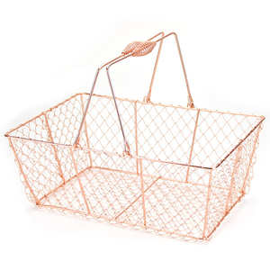 - Copper Metal Basket