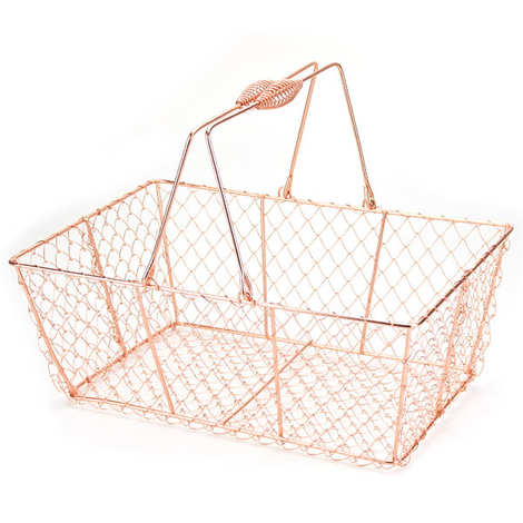- Copper Metal Basket