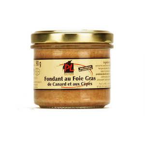 Paul Laredy - Fondant au foie gras de canard et aux cèpes