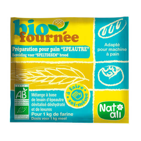 Nat-Ali - Spelt leaven Biofournée