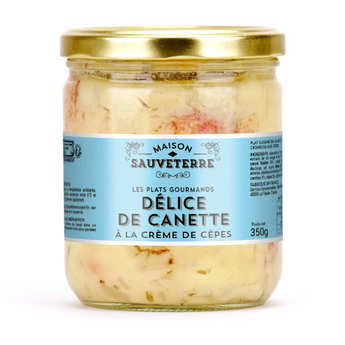 Maison Sauveterre - Duckling with a Creamy Boletus Sauce