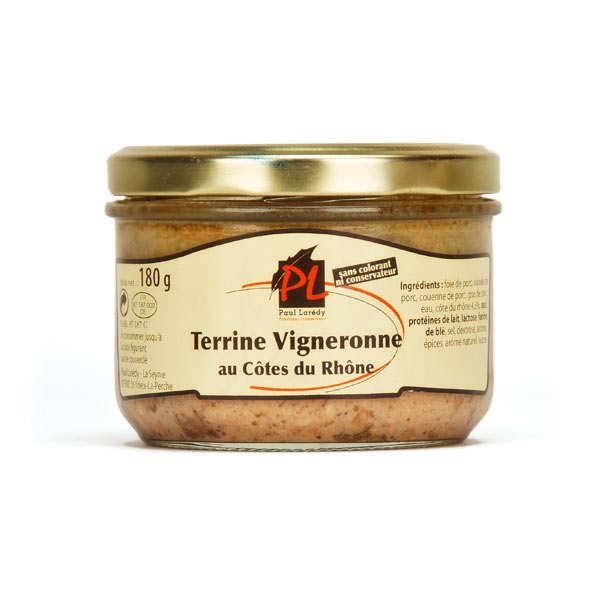 Terrine vigneronne aux Côtes du Rhône