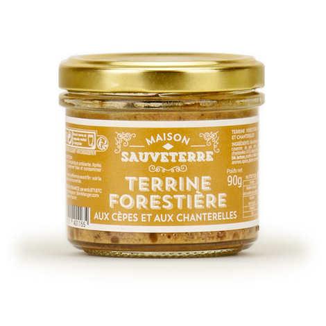 Maison Sauveterre - Porcini and Chanterelle Mushrooms Pork Terrine