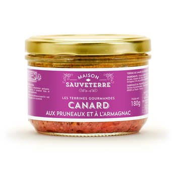 Maison Sauveterre - Prune and Duck Terrine with Armagnac