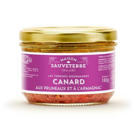 Maison Sauveterre - Terrine de canard aux pruneaux et à l'Armagnac