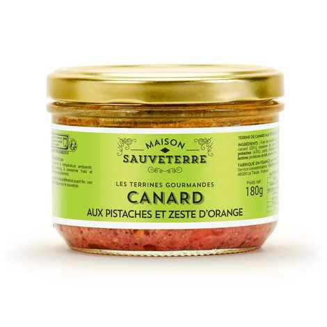 Maison Sauveterre - Pistachio, Orange peel and Duck Terrine