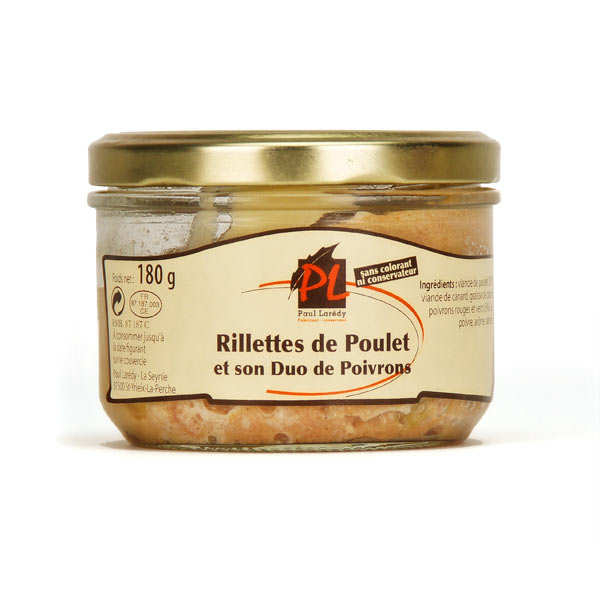 Chicken Rillettes with Peppers