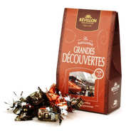 Revillon chocolatier - Christmas discovery papillotes black and milk