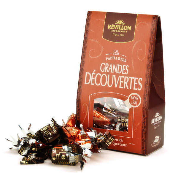 Christmas discovery papillotes black and milk