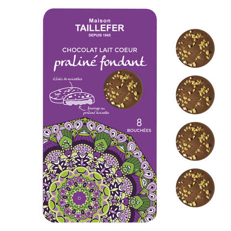 Maison Taillefer - Milk and Fondant Praline Chocolate