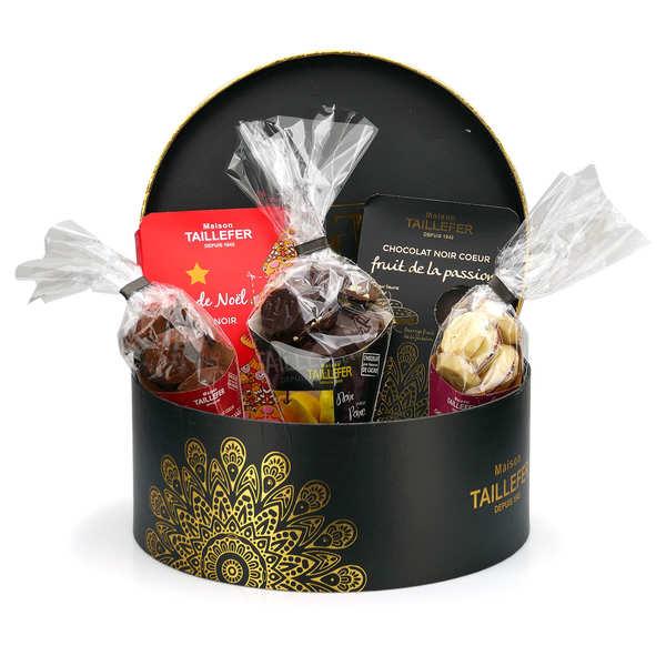 Boite ronde chocolat Maison Taillefer