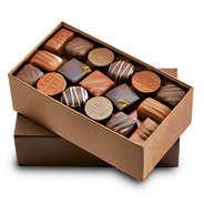 Ballotin premium de chocolats noirs et au lait