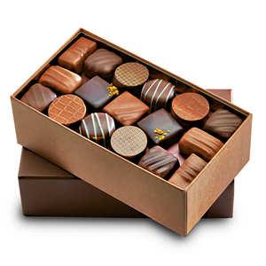 Maison Sauveterre - Ballotin premium de chocolats noirs et au lait