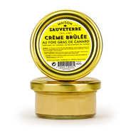 Maison Sauveterre - Crème brûlée au foie gras de canard