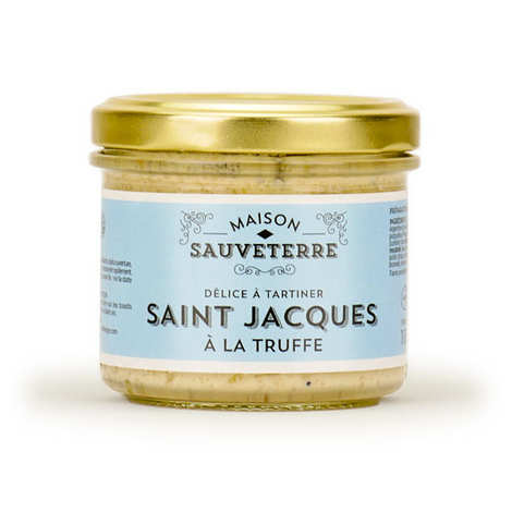 Maison Sauveterre - Saint-Jacques à la truffe à tartiner Maison Sauveterre