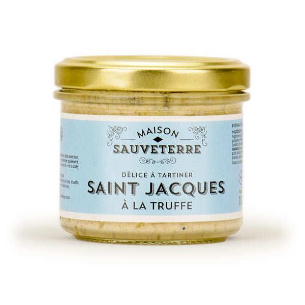 Saint-Jacques à la truffe à tartiner Maison Sauveterre