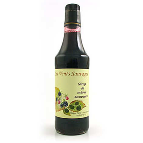 Les vents sauvages - Organic wild blackberry syrup