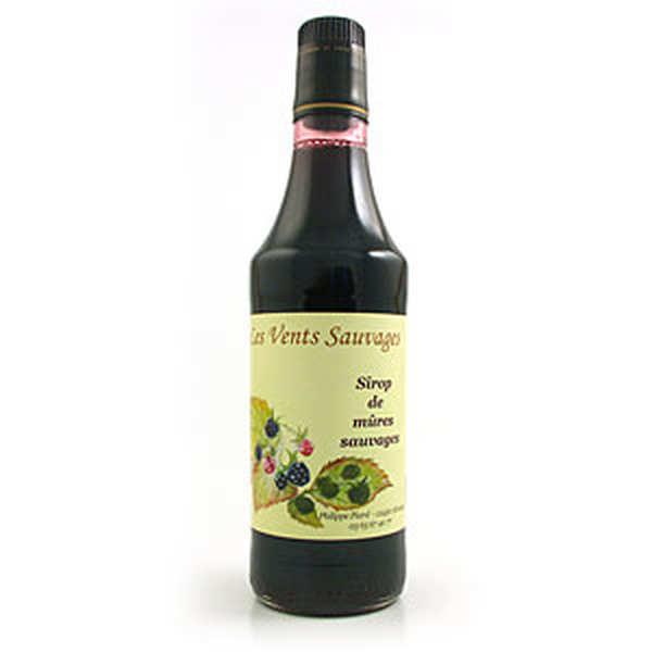 Organic wild blackberry syrup