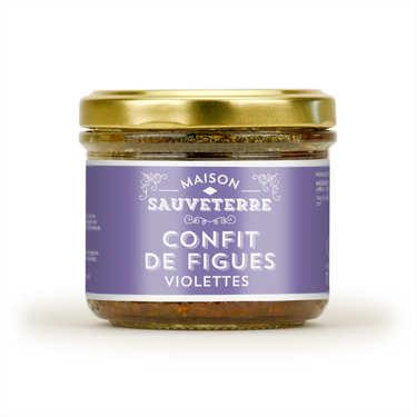 Confit de figues violettes Maison Sauveterre