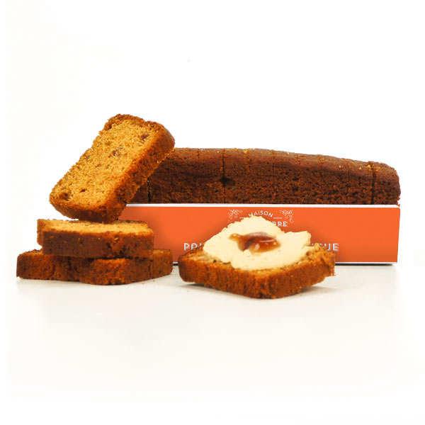 Toast pain d'épices à la figue Maison Sauveterre