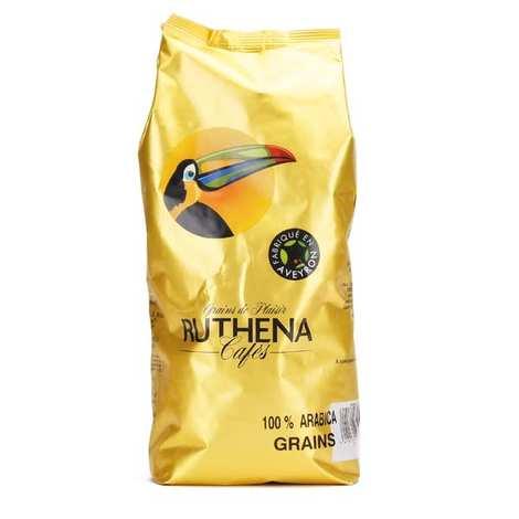 Café Ruthena - Café en grain 100% arabica - Ruthena